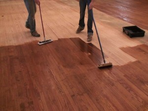 Hardwood Floor Staining
