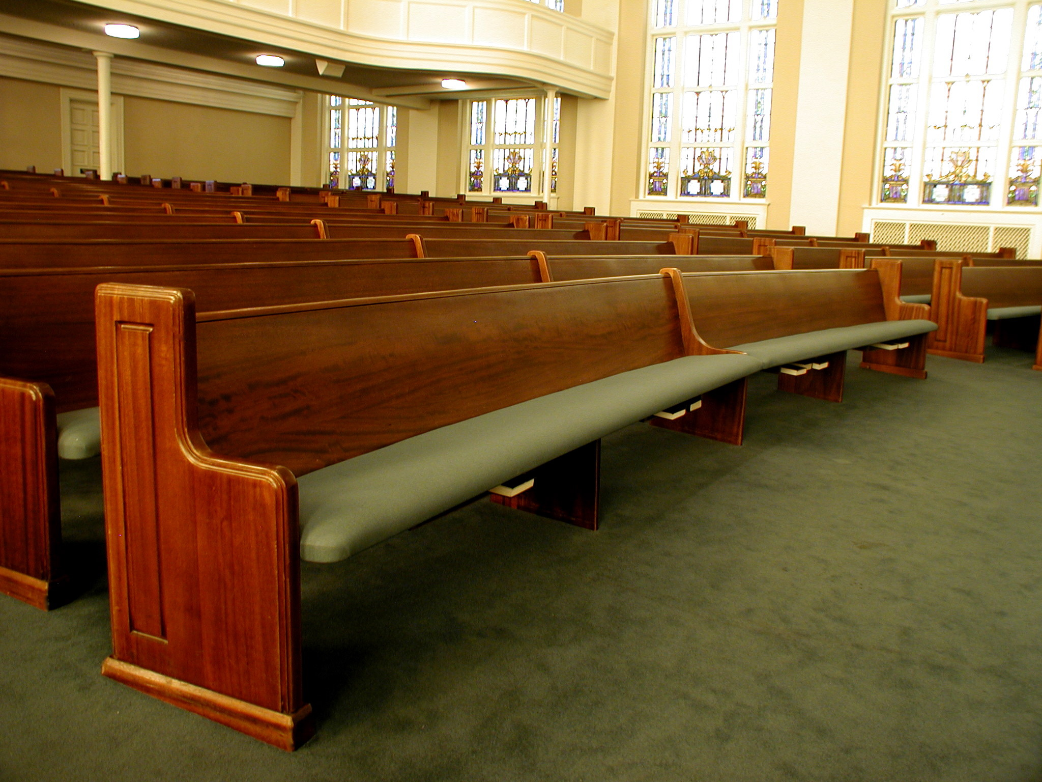 Pew Upholstery Church Pew Cushions