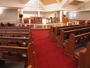 Traditional Pews