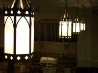LED Lighting in use