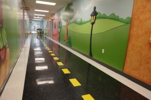 Wall Mural & Floor Design