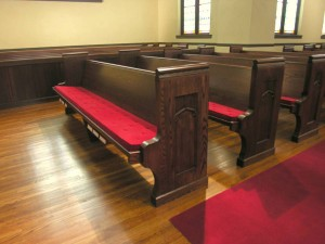 1930's Pew Replicated