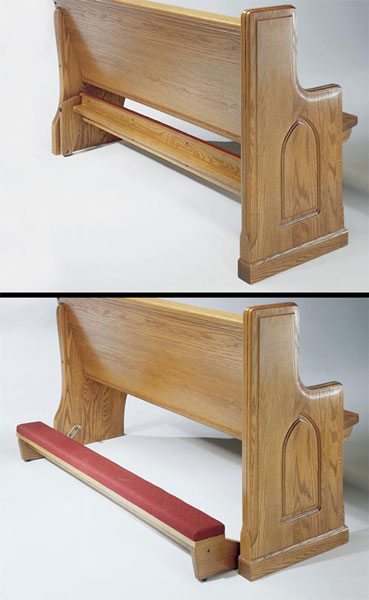 #1210 Oak Kneeler