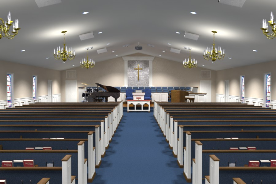 Lifeway Church Interiors